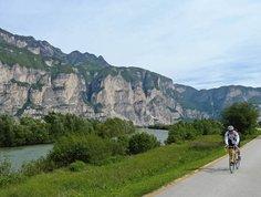 Pista ciclabile Val d'Adige Radweg