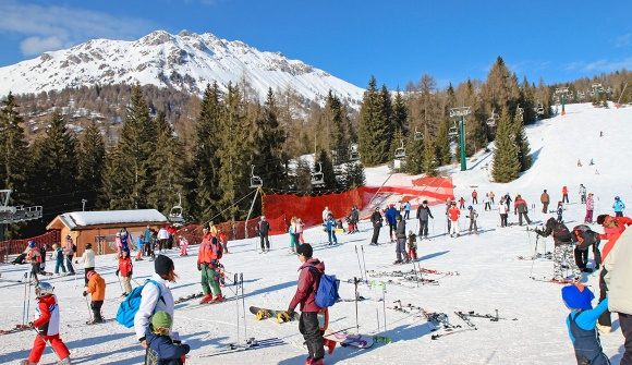 Alpe Lusia - Winter - Ski