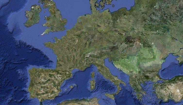 Map Trentino Italy