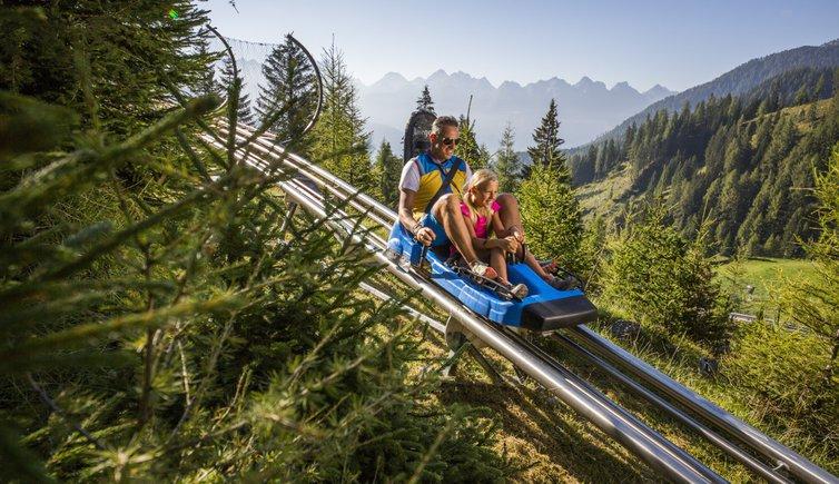 Alpine Coaster Gardoné, Foto: Modica © Latemar MontagnAnimata