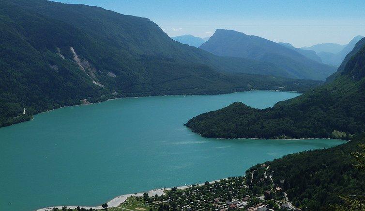 Lake Molveno, Foto: AT, © Peer
