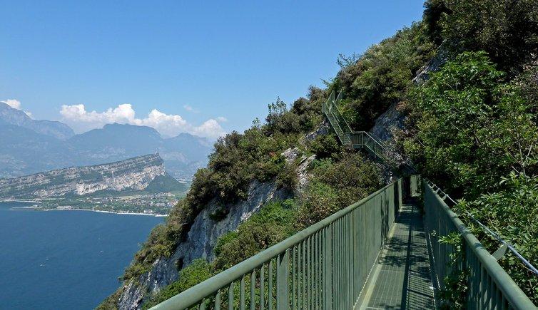 Gardasee-Panoramaweg Busatte Tempesta, Foto: AT, © Peer