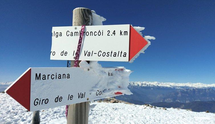 Con le ciaspole sul Dosso di Costalta - Trentino - Provincia di Trento 4a33c6ca8b9f