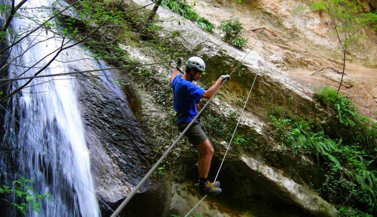 Klettersteigset Verleih Arco : Klettersteig rio sallagoni dro drena trentino