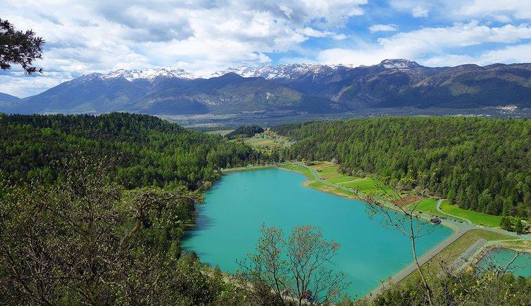 Escursione ai laghi di coredo e la baita dei sette larici for Le pigne dei larici