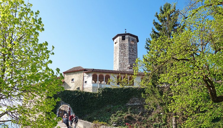 Escursione da Castel Valer all'Eremo di S. Giustina, Foto: AT, © Peer