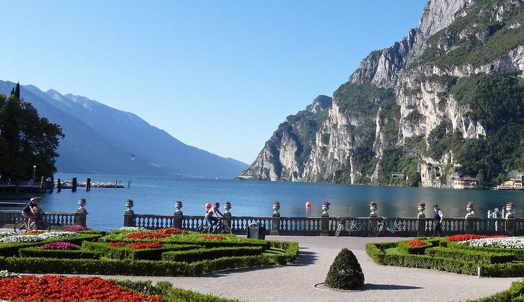 Pista ciclabile Lago di Garda: Riva del Garda - Torbole – Mori, Foto: AT, © Peer