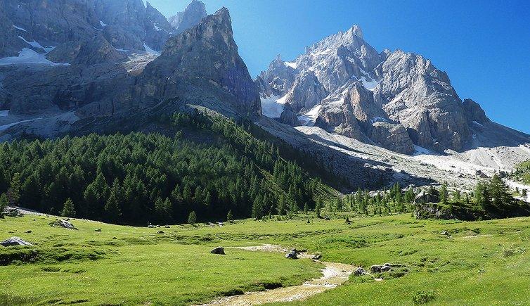 Escursione circolare Val Venegia e Castellaz, Foto: AT, © Peer