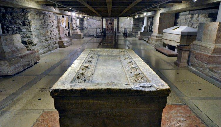 Basilica paleocristiana di San Vigilio, Foto: © Museo Diocesano Tridentino