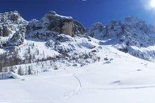 Val Venegia in winter