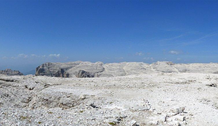 Sella mountain chain from Sas Pordoi